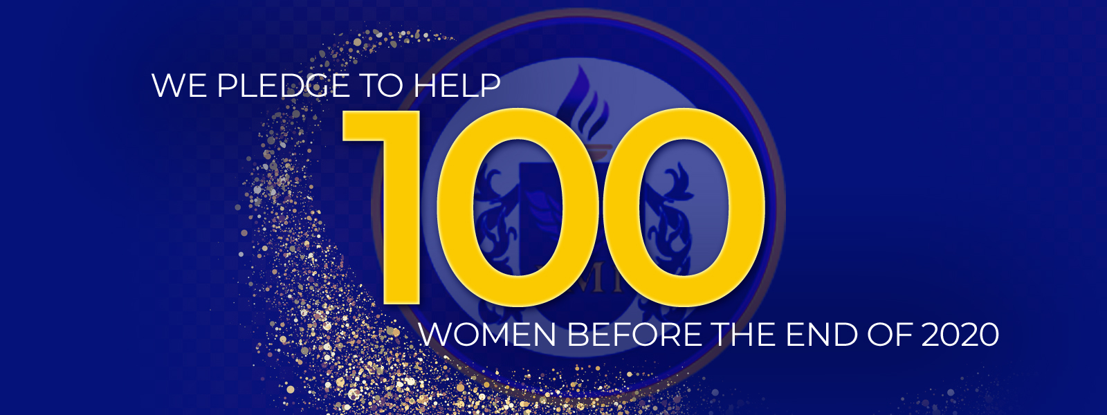 2nd Chance Living PMI, Inc., pledge to help 100 women before the end of 2020.